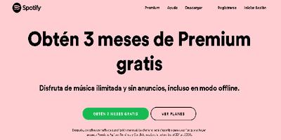 Cambiar contraseña Spotify 1